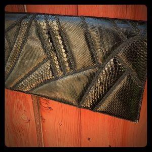 Vintage 80s 90s black purse